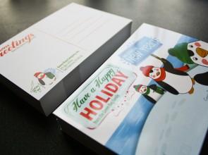 Green Bag Holiday: Postcards 2010 & 2011
